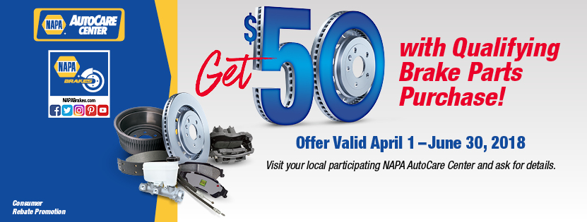 Napa Auto Care April Brake