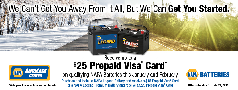 Napa Auto Care January Savings