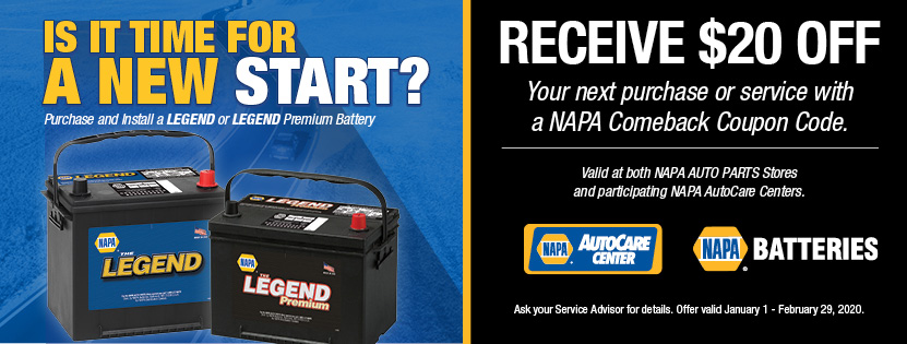 Napa January Battery Savings Professional Auto Diagnostics Newport News Virginia
